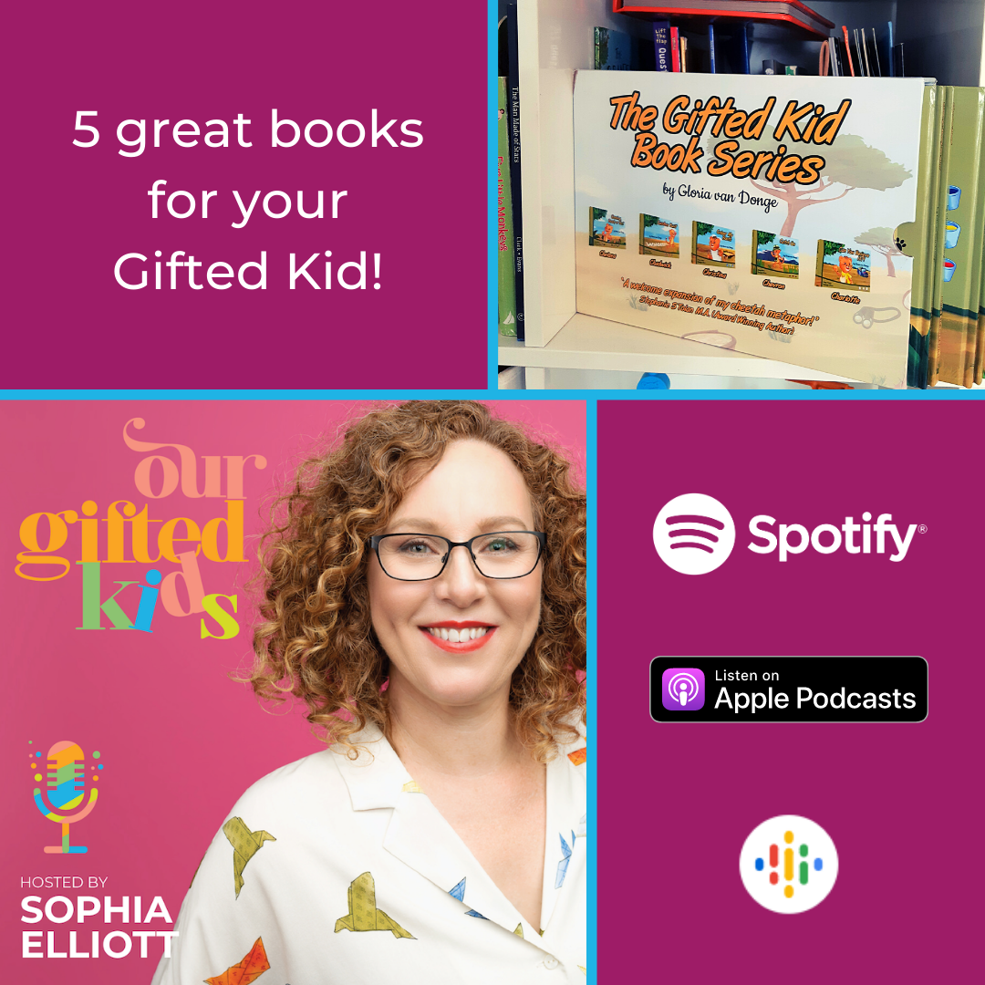 5 great books for gifted kids podcast